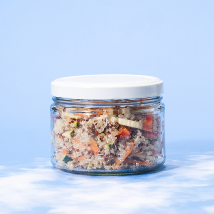 maemae quinoa salat vegan
